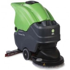 Бутаща се машина за миене на подове (с батерии или кабел)