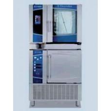 Конвектомат със сензорен дисплей върху шоков охладител/ замразител